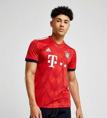 Adidas Bayern Munich FC HOME Mens Football Jerseys Shirts 2018-19 S-XXL SIZES