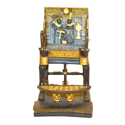 Ancient Egyptian Statue King Tut Throne Statue Replica