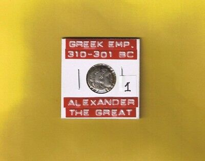 """Ancient Macedonia (Greek)silver coin of Alexander III """"The Great""""... 310-301 BC"""