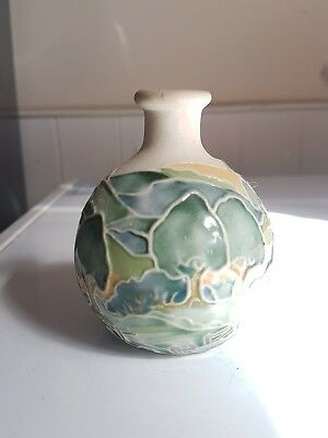 Jane and Peter McCormick Ceramics Small tree design vase. Pristine!!