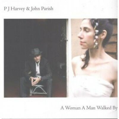 P J HARVEY AND JOHN PARISH A Woman A Man Walked By CARD Large Print That Was