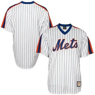 Majestic New York Mets White Cooperstown Cool Base Team Jersey