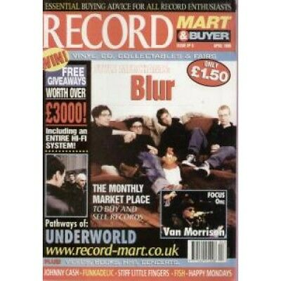BLUR Record Mart And Buyer MAGAZINE UK Msm 1999 Featuring Front Cover