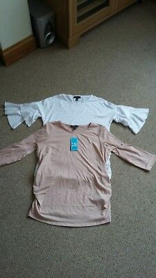 New Look Maternity Tops  Size 10 And 12