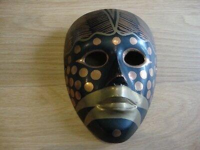 Solid Brass face mask