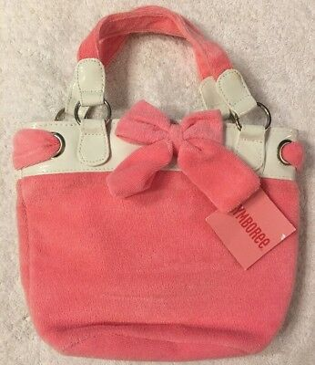 NWT Gymboree Love Is In The Air Pink Terry Swim Purse BTS Fall HTF