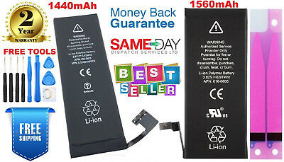 Replacement Battery Fits For iPhone 5 & 5S 1440mAh,1560mAh With Tools & Adhesive