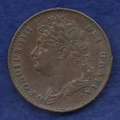 Great Britain, George IV, 1826 Farthing (Ref. c6530)