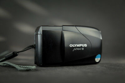OLYMPUS mju II - Stylus Epic 2.8/35mm Multi AF compact camera point and shoot