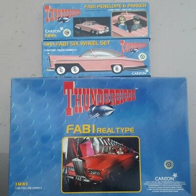 IMAI Thunderbirds 1/32 FAB1 Real Type with Metal Wheels & Penelope/Parker