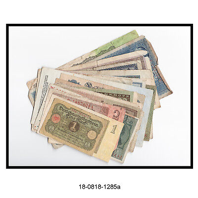 Lot of 20 Early 20th. Century German Bank Notes (No Duplicates)
