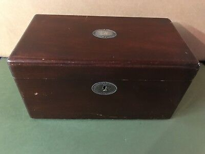 Antique C.N. Swift NY Cigar Humidor Tin Lined
