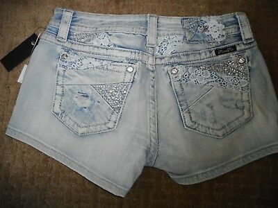 NWT Miss Me Signature Shorts Jeans Size 30 In Original Bag