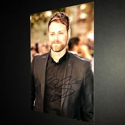 BRIAN MCFADDEN WESTLIFE MUSIC HAND SIGNED PHOTO AUTHENTIC GENUINE + COA - 12x8