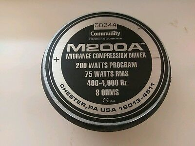 COMMUNITY M200 COMPRESSION DRIVERS DOWNLOAD (2019)