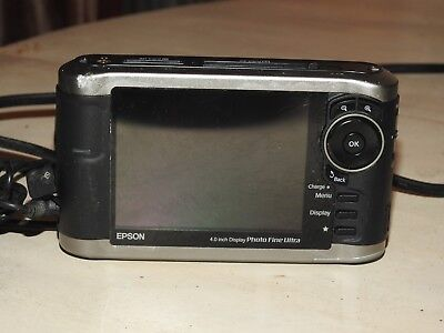 Epson P-3000 multimedia viewer/backup/storage