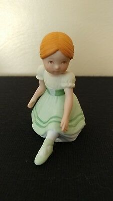 1985 Ballet Figurine Holly Hobbie Series XIV Miniatures Collection - Giselle