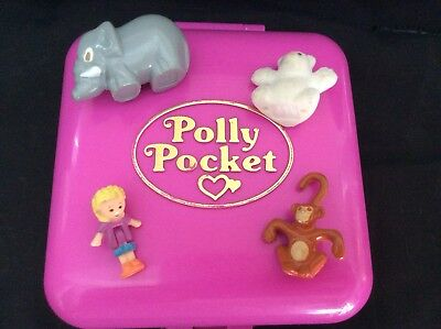Vintage Polly Pocket 1989 Wild Zoo World
