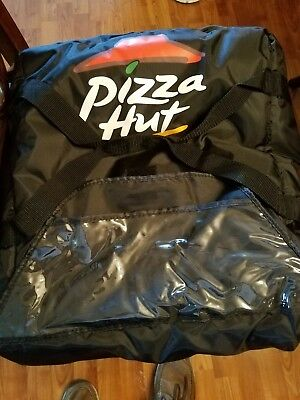 pizza hut delivery bag black, never used, excellent condition