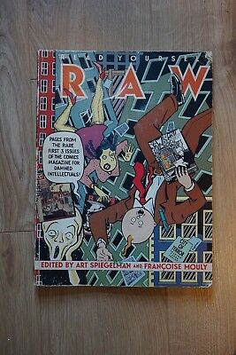 RAW Pages From the Rare 3 Issues of the Comics Magazine for Damned Intellectuals