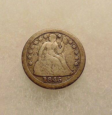 1845-O Liberty Seated Dime - Scarce Date - Nice Looking Coin