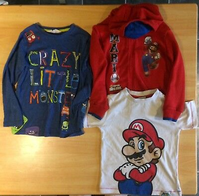 Boys age 5-6 yrs, 116cm tops. Super Mario