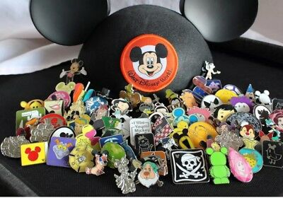 Disney Trading Pin Lot 50 - No Duplicates - 100% Tradable - FREE US Ship -B