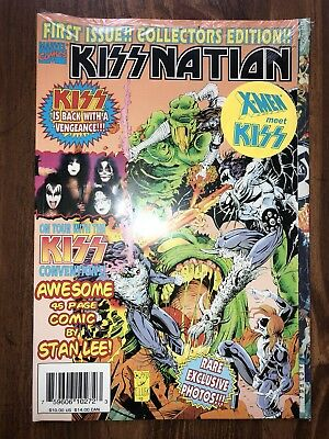 Kiss Marvel Comic Book Kissnation 1996