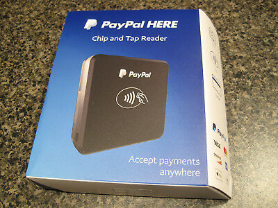 PayPal Here Chip and Tap Contactless Credit Card Reader