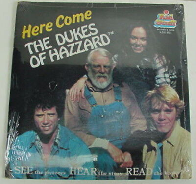 Vintage SEALED HERE COME THE DUKES OF HAZZARD KSR 954 Story Book Record