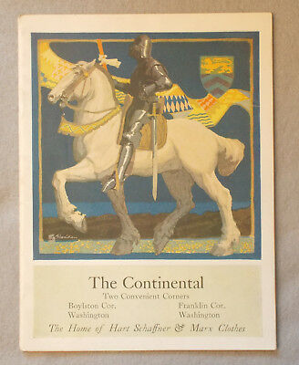 Vintage 1920 HART SCHAFFNER AND MARX CATALOGUE Style Book For Men and Young Men