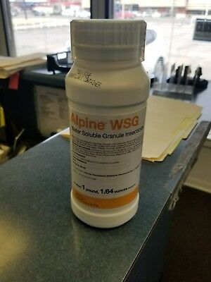 Alpine WSG Water Soluble Granule Insecticide 500g Jar Flea Bed Bug Roach Control