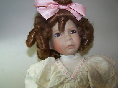 Porcelain Doll Dianna Effner Little Girl with a Curl Mother Goose Series #1600E