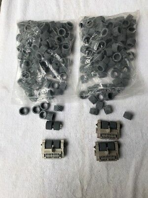 Kodak Scanner I800 Feed Modules (3) And Replacement Wheels (200)