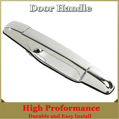 Chrome Exterior Door Handle Rear Right RH Passenger for Chevy GMC Pickup Truck