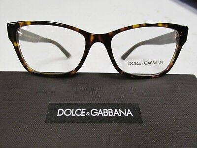 0e9a736ea33b NEW DOLCE   Gabbana DG 3274 Eyeglasses 502 Havana 100% AUTHENTIC ...