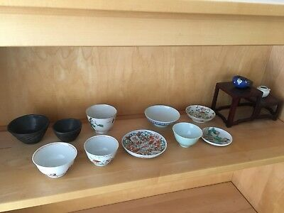 A group of Chinese antique/ porcelain