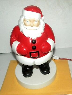 "1950s Lighted 9"" Hard Plastic Santa Claus Christmas Maybe General Product rosbro"