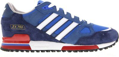 Adidas Originals Zx 750 Mens Trainers Bluebird / White / Red Uk Sizes 7 To 12