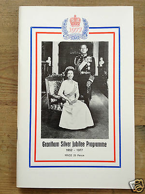 Grantham Silver Jubilee Programme 1977 + message from Mrs Margaret Thatcher M.P