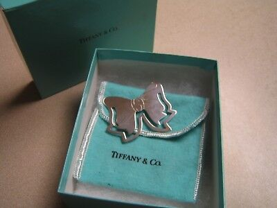 Tiffany & Co. Vintage .925 Sterling Silver Bow Book Mark Retired