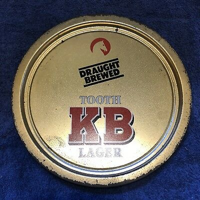 Tooth's KB Lager Beer Tray