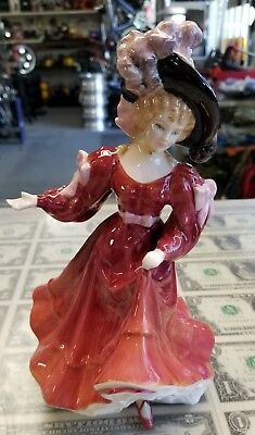 "Vintage Royal Doulton Porcelain Figurine ""Patricia"" HN3365 Beautiful piece"