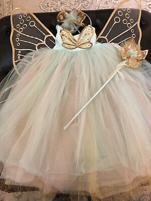 Pottery Barn Kids Fairy Halloween Costume 7-8
