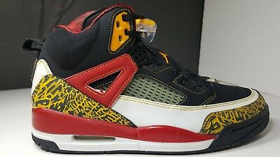 outlet store cef6d 00731 2007 Nike Air Jordan SPIZIKE KING COUNTY BLACK TAXI RED WHITE GOLD Sz.9 DS