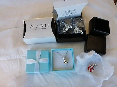 Avon Jewellery,earings And Necklace.
