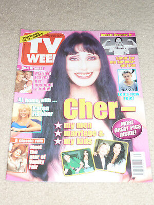Tv Week 1999 Cher Home And Away