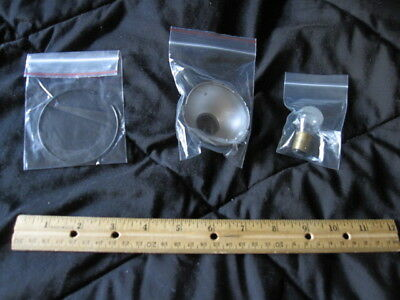Singer SLF-2 Sewing Machine Lamp Vintage Articulating Cone Bulb etc (Lot 4 of 5)