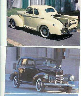 1939-1940 STUDEBAKER CHAMPION 14 PG Color Article