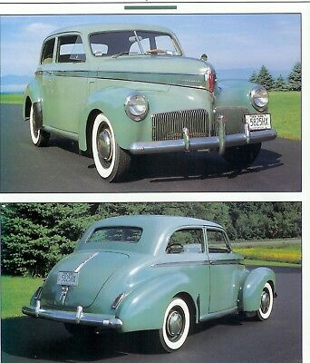 1941 STUDEBAKER CHAMPION 5 PG COLOR Article
